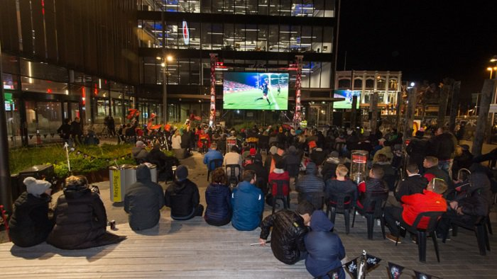 'Rugby World Cup Fanzone in Vanguard Square