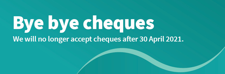 Cheque payments coming to an end