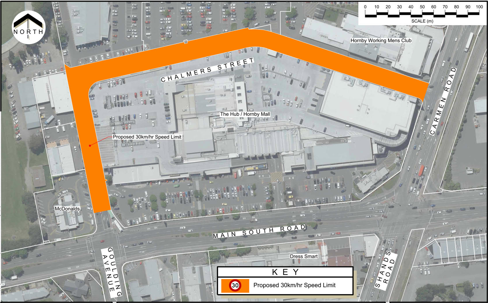 Chalmers Street proposed plan