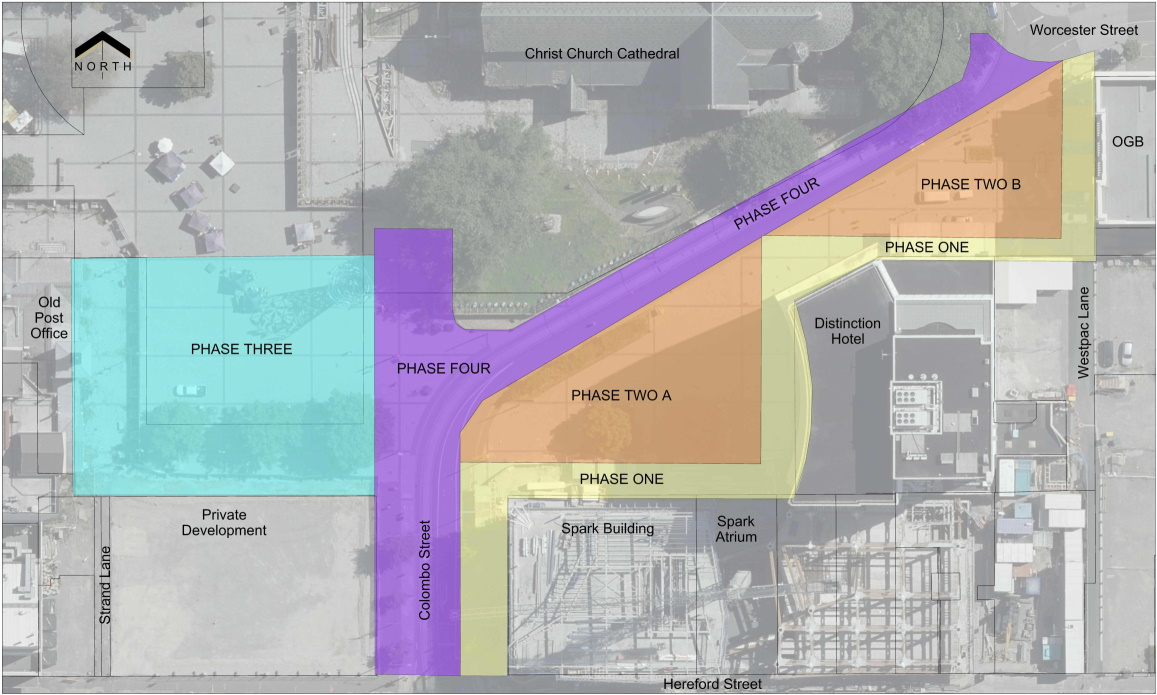 Cathedral Square Phasing Plan