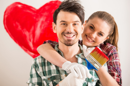 Renovating Couple heart