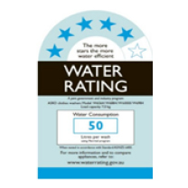 Water rating logo