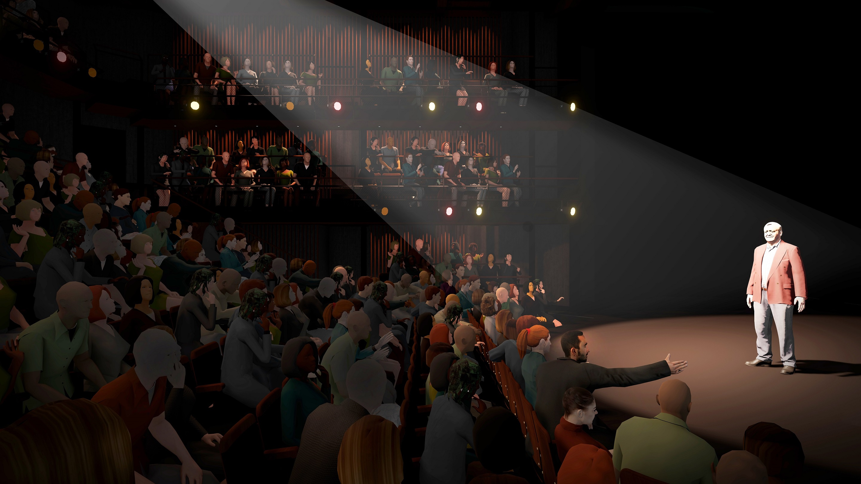 Court Theatre main theatre - preliminary design