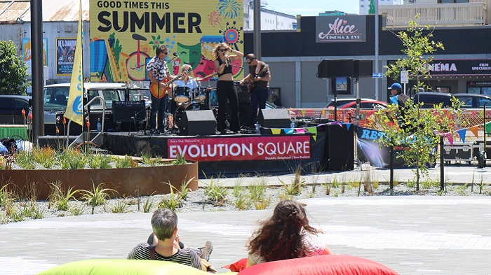 'City Sounds at Evolution Square