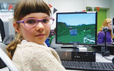 There's Minecraft entertainment on offer at the libraries.
