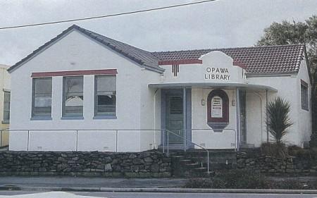The original Opawa Library building.