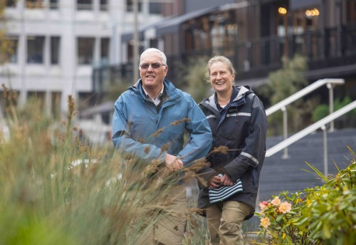 CCouncil Park Rangers Brian Appleton and Keely Gwatkin will be keeping a watchful eye on the central city.