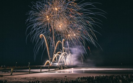 A new date has been set for Friday night fireworks.