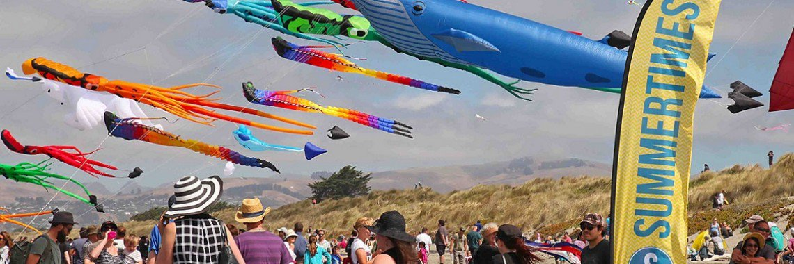 Events Kite Day banner