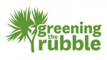 Greening the Rubble logo