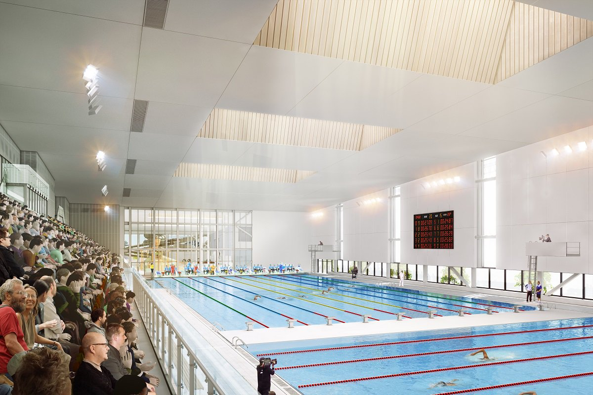 Metro Sports Facility competition pool