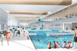 MSF artist impression Leisure water area