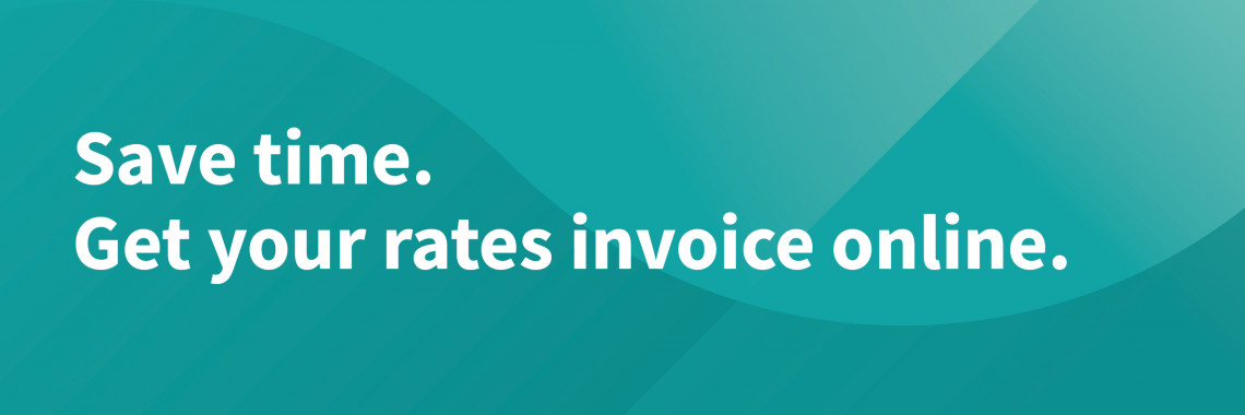 Register to receive rates invoices by email with My Rates