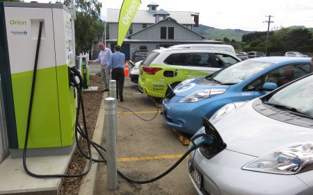 The New Public Electrical Vehicle Charging Stations At Little River