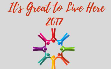 It's Great to Live Here 2017 expo logo.