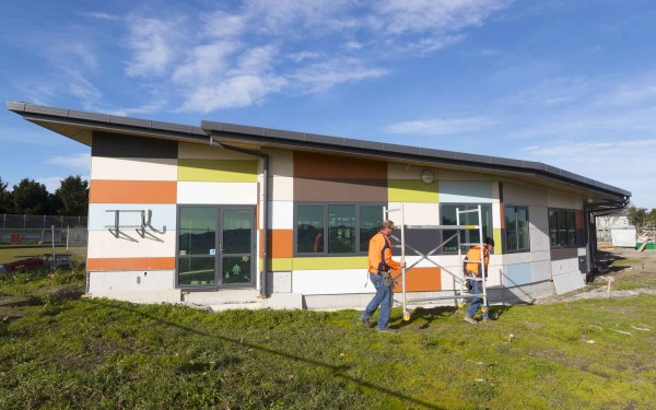 The first stage of the Pukeko Centre is underway in Parklands.