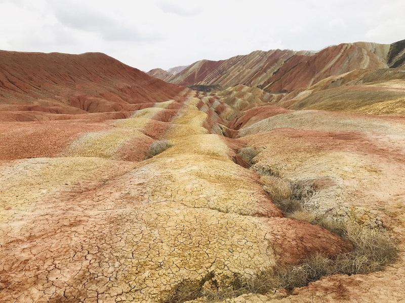 'Danxia Geopark in Zhangye