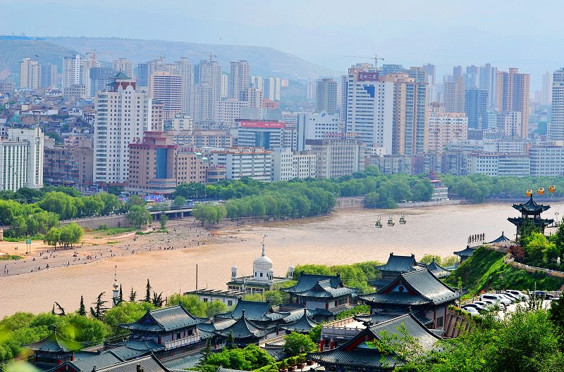 'Yellow River in Lanzhou