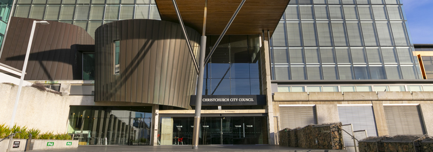 Christchurch City Council building