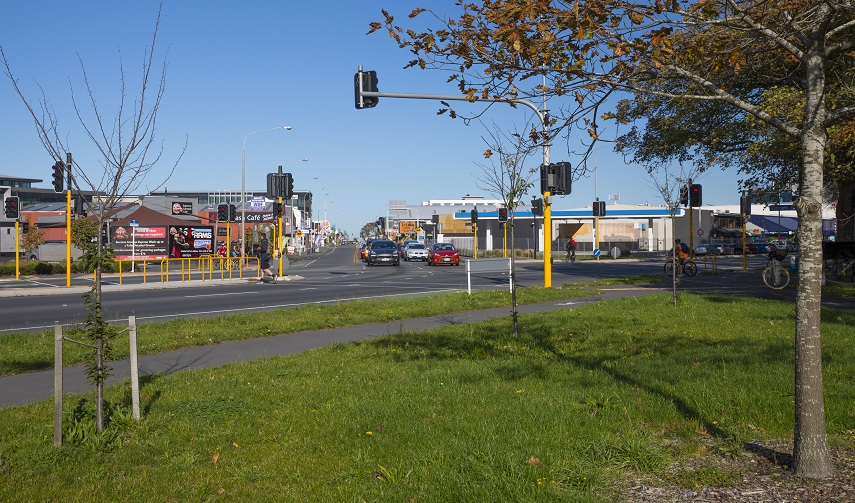 'Hagley / Lincoln / Moorhouse intersection